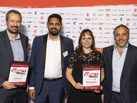 base2Services awarded Highly Commended at the 2018 CRN Impact Awards